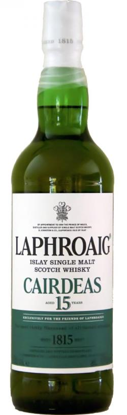The Dramble's tasting notes for Laphroaig Cairdeas 15 year old