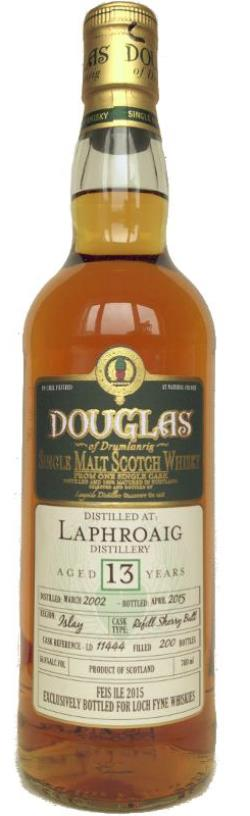 The Dramble's tasting notes for Laphroaig 2002 13 year old Douglas of Drumlanrig