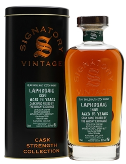 The Dramble's tasting notes for Laphroaig 1998 16 year old Signatory Vintage hand-picked by TWE