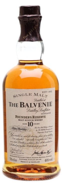 The Dramble's tasting notes for Balvenie Founder's Reserve 10 year old