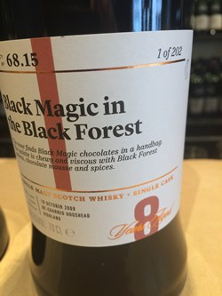 The Dramble's review of SMWS 68.15 Black Magic in the Black Forest