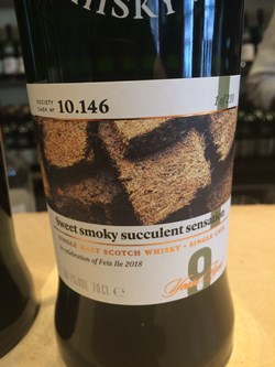 The Dramble's review of SMWS 10.146 Sweet smoky succulent sensation