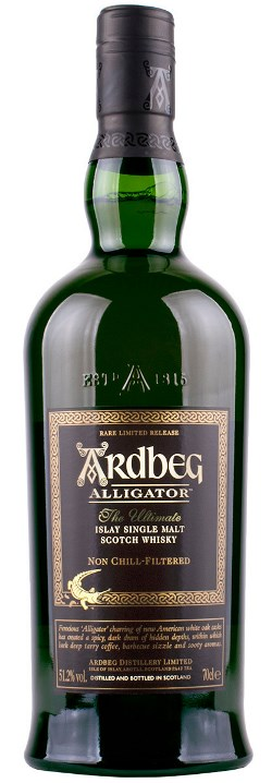 The Dramble's tasting notes for Ardbeg Alligator Untamed Release