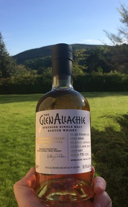 The Dramble's tasting notes for GlenAllachie 2006 12 year old Spirit of Speyside 2018