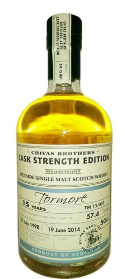 The Dramble's tasting notes for Tormore 1998 15 year old Distillery Reserve Collection