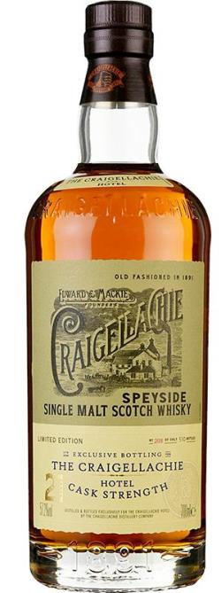 The Dramble's tasting notes for Craigellachie 21 year old Craigellachie Hotel Exclusive