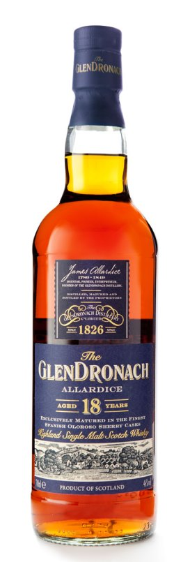 The Dramble's tasting notes for Glendronach 18 year old Allardice