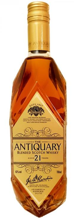 The Dramble's tasting notes for The Antiquary 21 year old