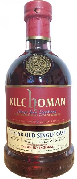 The Dramble's tasting notes for Kilchoman 2007 10 year old #401/2017 TWE Exclusive