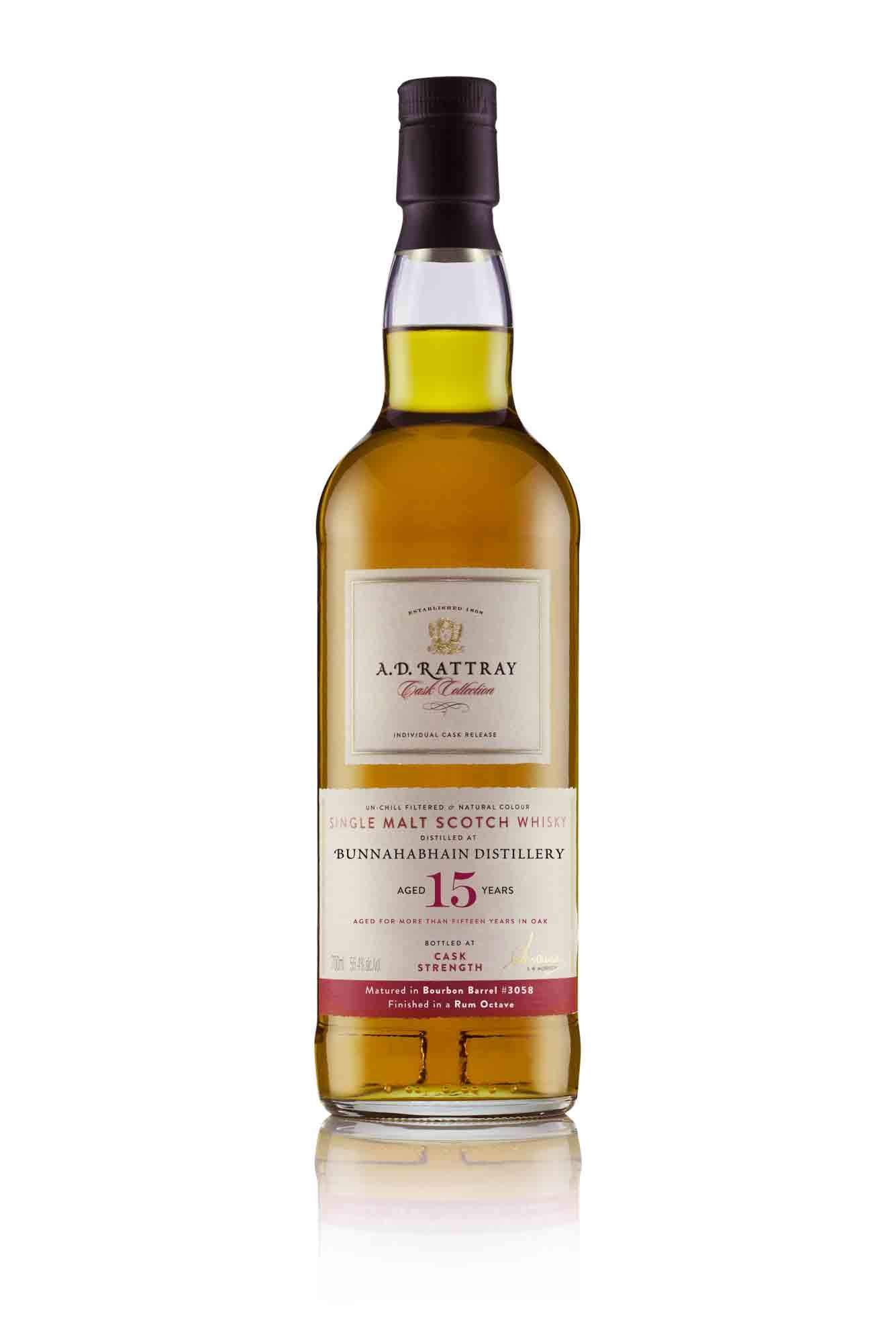 The Dramble's review of the A.D. Rattray Octave Project - Bunnahabhain 15 year old rum octave
