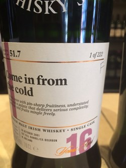 The Dramble's review of SMWS 51.7 Come in from the cold