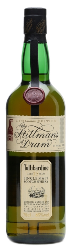 The Dramble's review of Tullibardine 25 year old Stillman's Dram