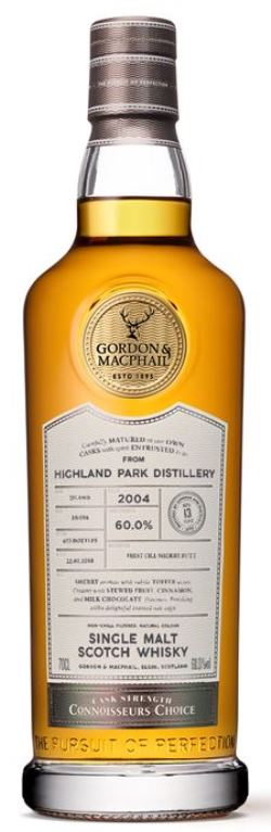 The Dramble's review of Highland Park 2004 13 year old Gordon & MacPhail Connoisseurs Choice