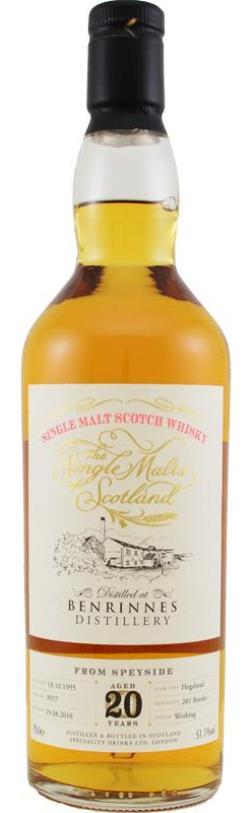 The Dramble's review of Benrinnes 1995 20 year old The Single Malts of Scotland