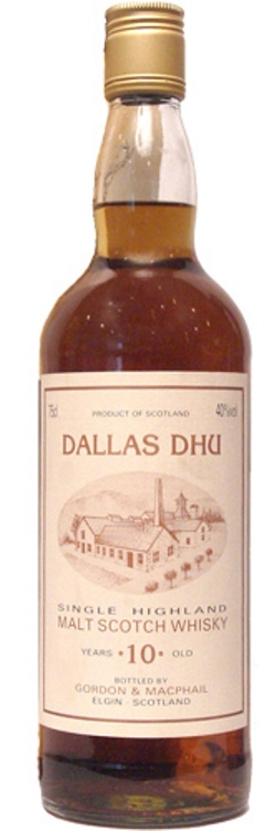 The Dramble reviews Dallas Dhu 10 year old Gordon & MacPhail