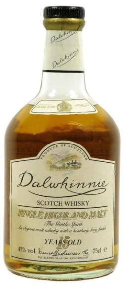 The Dramble's review of Dalwhinnie 15 year old 1980's bottling