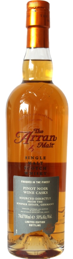 The Dramble reviews Arran 2000 Pinot Noir Cask