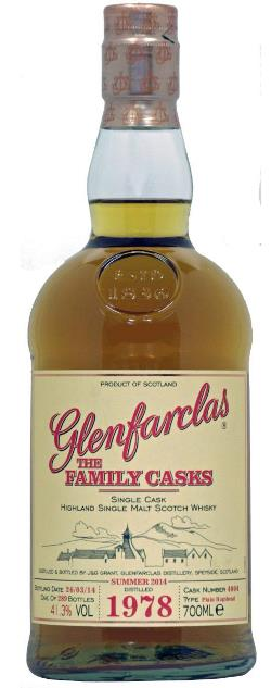 The Dramble's review of Glenfarclas 1978 Family Cask Summer 2014 release