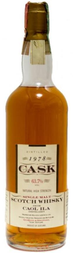 The Dramble's review of Caol Ila 1978 Gordon and MacPhail (Cask Strength)