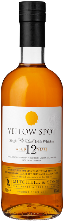 The Dramble's tasting notes for Yellow Spot 12 year old whiskey