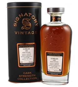 The Dramble's tasting notes for Signatory Cask Strength Clynelish 1995 20 year old Cask No 8686