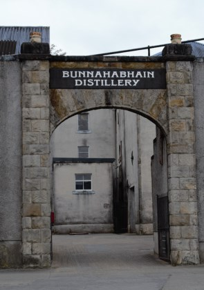 Bunnahabhain entrance