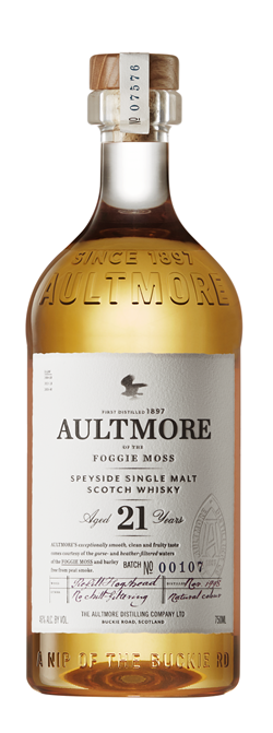 The Dramble's tasting notes for Aultmore 21 year old