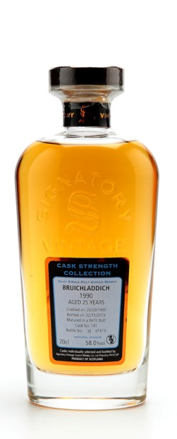 The Dramble's tasting notes for Bruichladdich 1990 25 year old Cask No 141