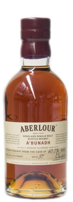 The Dramble's tasting notes for Aberlour A'Bunadh Batch 57