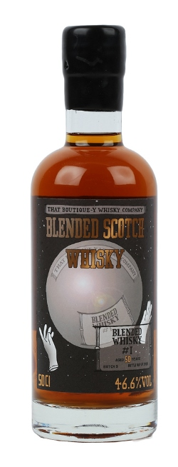 The Dramble's tasting notes for That Boutique-y Whisky Company Blended Scotch Whisky Aged 50 years