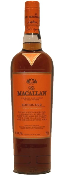 The Dramble's tasting notes for Macallan Edition No. 2