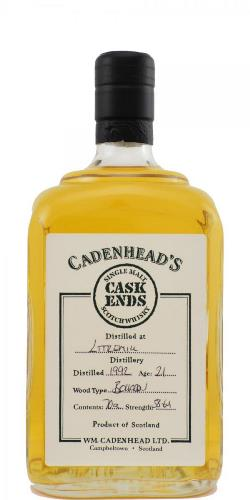 The Dramble's tasting notes for Littlemill 1992 Cadenhead's Cask Ends