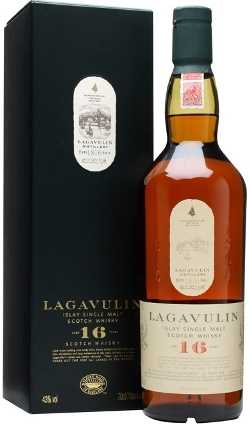 Lagavulin 16 bottle